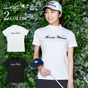 アーノルドパーマー arnold palmer ゴルフウェア 半袖シャツ レディース BKモックネック半袖シャツ AP220301K05