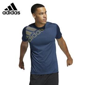 アディダス Tシャツ 半袖 メンズ FreeLift バッジ オブ スポーツ グラフィック GM0658 FSF86 adidas