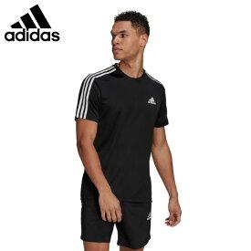 アディダス Tシャツ 半袖 メンズ D2M 3ストライプス Tシャツ GM2105 42274 adidas
