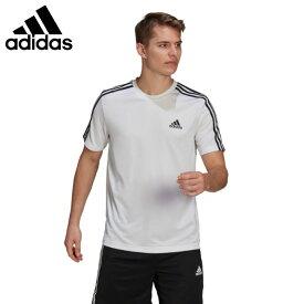 アディダス Tシャツ 半袖 メンズ D2M 3ストライプス Tシャツ GM2156 42274 adidas