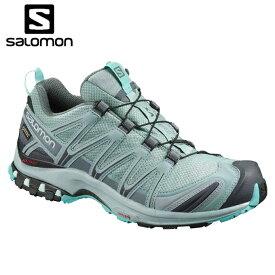 サロモン トレッキングシューズ ゴアテックス ローカット レディース XA PRO 3D GTX L40790600 salomon