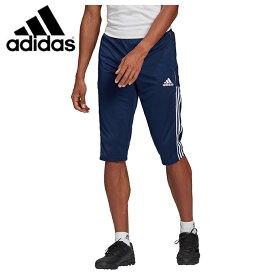 アディダス サッカーウェア ピステパンツ メンズ TIRO21 3/4 パンツ GH4473 JII08 adidas