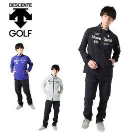 デサントゴルフ ブルー DESCENTE GOLF BLUE ゴルフ レインウェア上下セット メンズ MoveSportsレインウェア DGMRJH01W