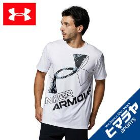 アンダーアーマー Tシャツ 半袖 メンズ UAテック ワード マーク シーズナル 1364328-100 UNDER ARMOUR