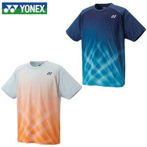 【期間限定対象商品500円クーポン発行中】ヨネックス バドミントンウェア ゲームシャツ メンズ レディース ドライTシャツ バド日本代表 16533 YONEX