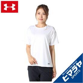 アンダーアーマー Tシャツ 半袖 レディース UAテック ベント Tシャツ 1364941-100 UNDER ARMOUR