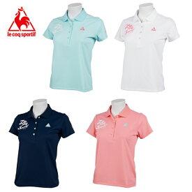 ルコック le coq sportif ゴルフウェア ポロシャツ 半袖 レディース サンスクリーンパステル半袖ポロシャツ QGWRJA13