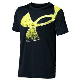 アンダーアーマー Tシャツ 半袖 ジュニア UAテック スプラッター シンボル ショートスリーブ 1364226-001 UNDER ARMOUR