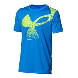 アンダーアーマー Tシャツ 半袖 ジュニア UAテック スプラッター シンボル ショートスリーブ 1364226-436 UNDER ARMOUR