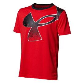 アンダーアーマー Tシャツ 半袖 ジュニア UAテック スプラッター シンボル ショートスリーブ 1364226-600 UNDER ARMOUR