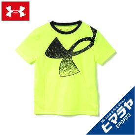 アンダーアーマー Tシャツ 半袖 ジュニア UAテック スプラッター シンボル ショートスリーブ 1364226-731 UNDER ARMOUR