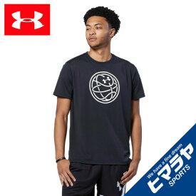 アンダーアーマー バスケットボールウェア 半袖シャツ メンズ Tech Basketball Tシャツ 1364717 001 UNDER ARMOUR