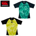 カンタベリー CANTERBURY ラグビーウェア 半袖シャツ メンズ トレーニングTシャツ RG31008