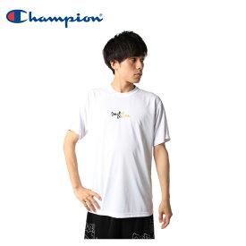 チャンピオン Champion バスケットボールウェア 半袖シャツ メンズ プラクティスTシャツ E-MOTION C3-TB317-010