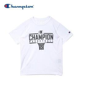 チャンピオン Champion バスケットボールウェア 半袖シャツ ジュニア ミニ ベンチレーションTシャツ E-MOTION CK-TB314-010