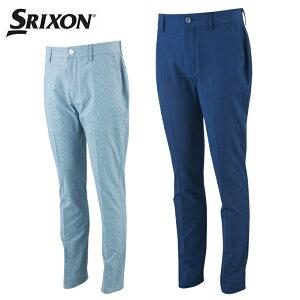 スリクソン SRIXON ゴルフウェア ロングパンツ メンズ サッカーギンガムロングパンツ RGMPJD06