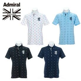 アドミラル Admiral ゴルフウェア ポロシャツ 半袖 メンズ ランパントドット BDシャツ ADMA135