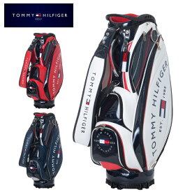 トミーヒルフィガーゴルフ TOMMY HILFIGER GOLF キャディバッグ メンズ ROUND LOGO CADDIE BAG ラウンド ロゴ THMG1SC3