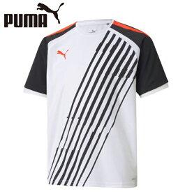 プーマ サッカーウェア 半袖シャツ ジュニア INDIVIDUALPACER SSシャツ JR 657477-41 PUMA