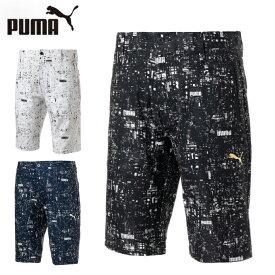 プーマ ゴルフウェア ショートパンツ メンズ NIGHT DIGI グラフィック ショーツ 930201 PUMA