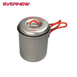 エバニュー EVERNEW 調理器具 鍋 チタンウルトラライトクッカー深型S RED ECA264R
