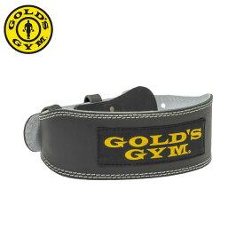 ゴールドジム GOLD'SGYM トレーニングベルト メンズ トレーニングレザーベルト G3368