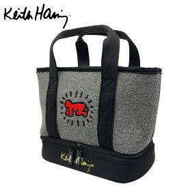 【エントリーでP5倍 10/15(金)〜10/16(土)スポーツデー限定】キースヘリング Keith Haring カートバッグ メンズ レディース ゴルフ 二層式 保冷機能付き ラウンドバッグ Baby KHRB-07