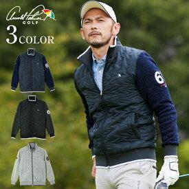 アーノルドパーマー arnold palmer ゴルフウェア ジャケット メンズ ハイブリッドジップセーター AP220204K03