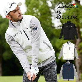 アーノルドパーマー arnold palmer ゴルフウェア ブルゾン メンズ 中綿ハイブリッドジャケット AP220206K06