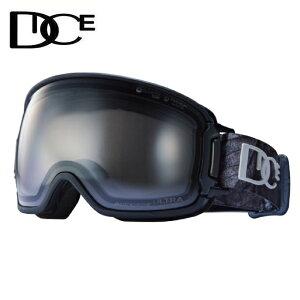 ダイス DICE スキー スノーボードゴーグル メンズ レディース ULTRA調光レンズ BANK BK14570MBK