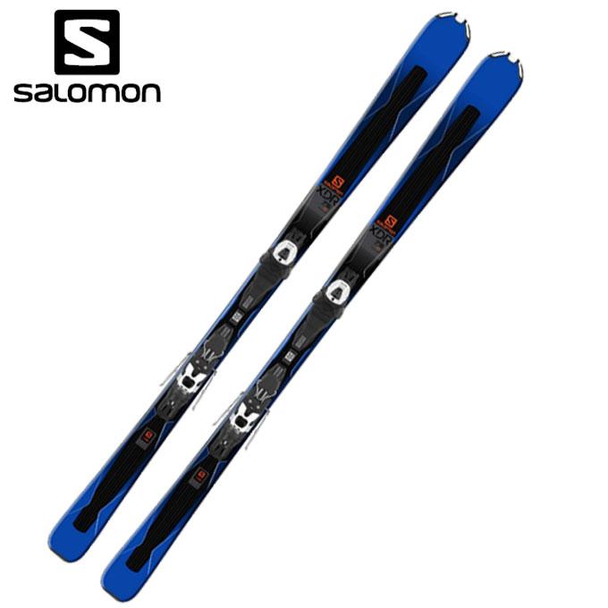サロモン salomon メンズ レディース スキー板セット 金具付 XDR 75 + LITHIUM10 エックスディーアール + リチウム 399575 【WAX】 【取付無料】