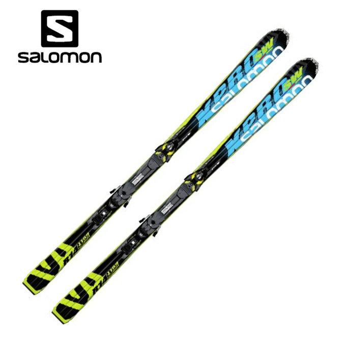 サロモン salomon X-PRO SW+Z10 メンズ レディース スキー板セット 金具付 【取付無料】