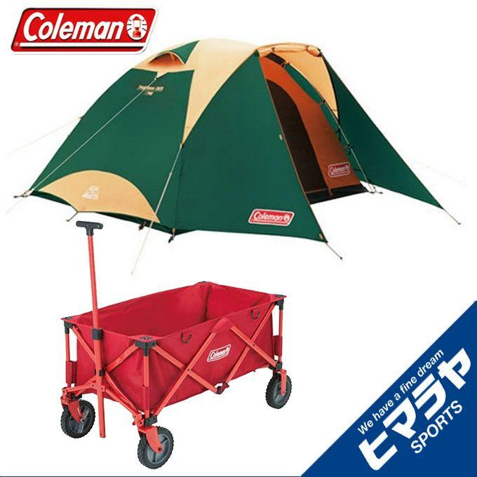コールマン Coleman テント 大型テント タフドーム/3025 スタートパッケージグリーン アウトドアワゴン 2000027279+2000021989