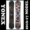 ヨネックス YONEXスノーボード板 メンズSMOOTH スムースSM16 スノーボード スノボ ボード 軽い 軽量 カービング 2017 16/17