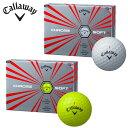 キャロウェイ Callaway ゴルフボール 1ダース 12個入り クロームソフト エックス CHROME SOFT X