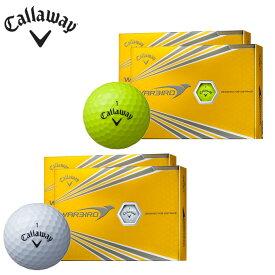 【基本送料無料 9/19 20:00〜9/24 1:59】 キャロウェイ Callaway ゴルフボール 2ダース 1ダース12個入り ウォーバード WARBIRD 2017