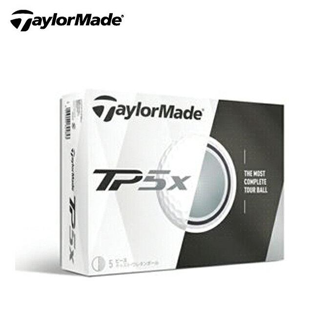 テーラーメイド TaylorMade ゴルフボール 1ダース 12個入り ツアープリファード5xボール TP5 X