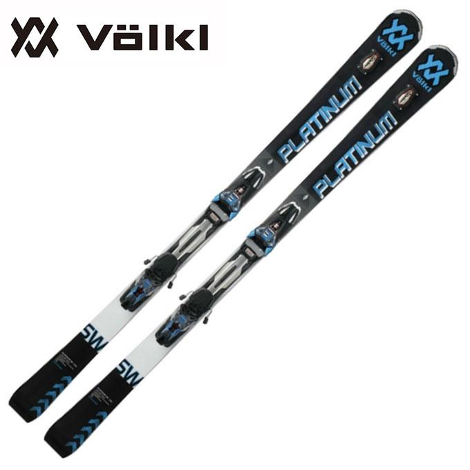 フォルクル Volkl メンズ レディース スキー板セット 金具付 PLATINUM SW+ r-MOTION2 12.0D 【取付無料】