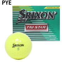 スリクソンSRIXONゴルフボール1ダース12個入トライ-スター2017TRI-STAR