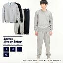 チャンピオン Champion スポーツウェア上下セット メンズ クルーネックスウェットシャツ + スウェットロングパンツ C3…