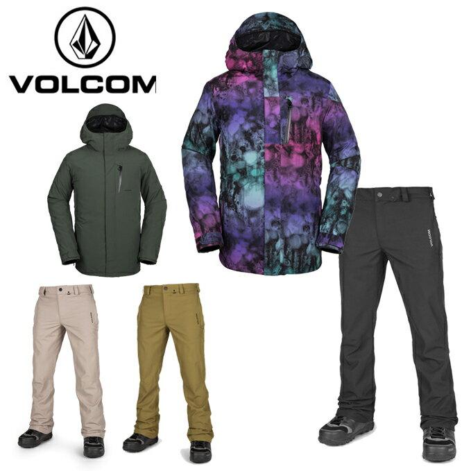 ボルコム VOLCOM スノーボードウェア 上下セット メンズ L GORE-TEX JACKET + KLOCKER TIGHT PANT G0651904 + G1351913