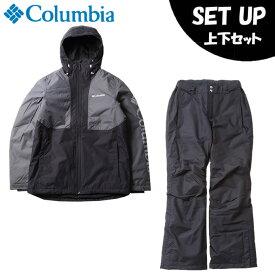 コロンビア スノーボードウェア 上下セット メンズ ティンバーターナージャケット+バガブーパンツ EE0903-011+WE0946-010 Columbia