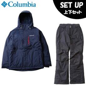 コロンビア スノーボードウェア 上下セット メンズ シャスタスロープジャケット+バガブーパンツ EE0904-464+WE0946-010 Columbia