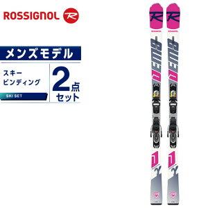 ロシニョール ROSSIGNOL スキー板 セット金具付 メンズ スキー板+ビンディング DEMO GAMMA CA +XPRESS11