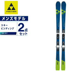 フィッシャー FISCHER スキー板 セット金具付 メンズ スキー板+ビンディング RC TREND +RS9 GW SLR