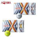 本間ゴルフ HONMA ゴルフボール 1ダース 12個入 TOURWORLD ツアーワールド TW-Xボール BTQ1908