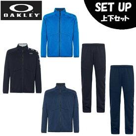 オークリー スポーツウェア ジャージ 上下セット メンズ 10.0 エンハンス テックジャージージャケット +パンツ FOA400839+FOA400820 OAKLEY