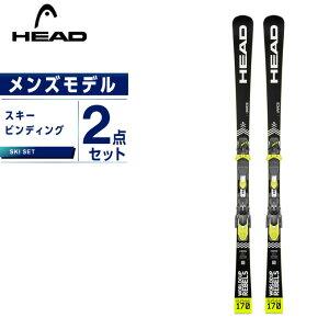 ヘッド HEAD スキー板 セット金具付 メンズ スキー板+ビンディング WORLDCUP REBELS I RACE + FF EVO14