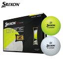 スリクソン SRIXON ゴルフボール 1ダース 12個入 ゼットスター ディバイド Z-STAR DIVIDE