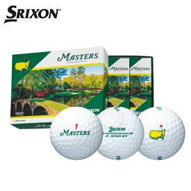 スリクソン SRIXON ゴルフボール 1ダース 12個入 ゼットスター XV マスターズ Z-STAR XV MASTERS